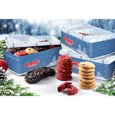 david s cookies merry tins of 24 gift tins