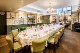 find and book the best private dining rooms in london