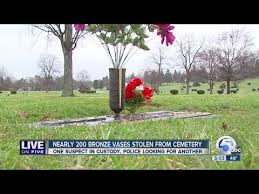 Vases Stolen From Cemetery Wn Floral Park Cemetery