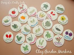 garden markers diary of a crafty clay garden markers