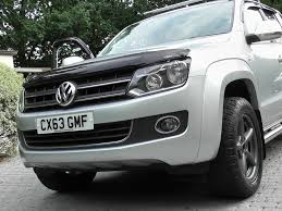volkswagen pickup diesel used reflex silver met with black vienna leather vw amarok for