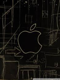 apple logo sketch 4k hd desktop wallpaper for 4k ultra hd tv