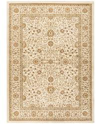 Ivory Area Rug Closeout Km Home Oxford Kashan Ivory Area Rugs Rugs Macy S