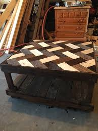 Making A Wood Plank Table Top by Best 25 Wood Coffee Tables Ideas On Pinterest Coffee Tables