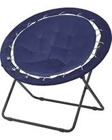 Blue Saucer Chair Amazing Deal On Urban Shop Micromink Saucer Chair With Gold Frame