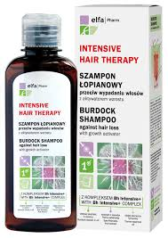 burdock shampoo with bh intensive complex against hair loss with