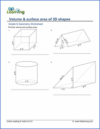 grade 6 geometry worksheets free u0026 printable k5 learning
