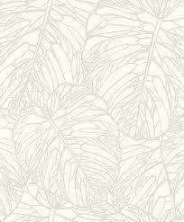 rasch wallpaper rasch blue velvet leaves white gloss 609325