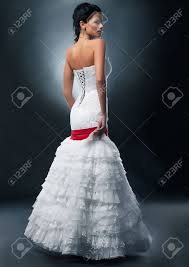 in wedding dress wedding dress stock photos royalty free business images
