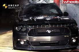 Black Mustang Crash Ford Mustang V8 Scores U0027poor U0027 2 Star Safety Rating Wheels