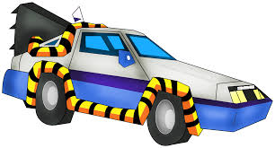 cartoon car back delorean from back to the future cartoon by nicholasnrm123 on