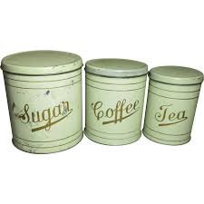 Green Kitchen Canisters White Farmhouse Kitchen Canisters U2013 Quicua Com