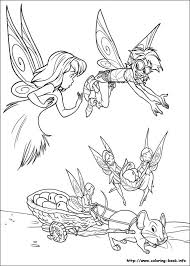 149 disney tinkerbell coloring pages images
