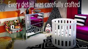 mom creates u0027star wars u0027 themed power nursery for baby