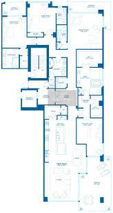 Parkland Residences Floor Plan by 5000 North Ocean Condo 5000 North Ocean Condos For Sale