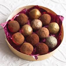 thanksgiving truffles easy chocolate truffles