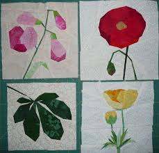 186 best paper piecing flowers and leaves images on