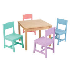 Childrens Folding Table And Chair Set Dining Set Kidkraft Chairs Kid Kraft Table And Chairs