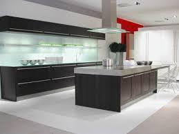 cuisine moderne ilot cuisine contemporaine en inox avec lot inspiration ilot central