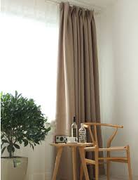 Curtains Decorations Solid Color Blackout Curtains Modern Bedroom Decorations Drapes