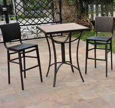 Tall Patio Tables Tall Patio Table And Chairs Home Design Ideas