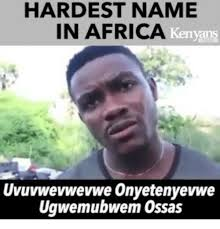 Funny African Memes - uvuvwevwevwe know your meme