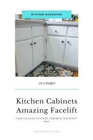 how to prep kitchen cabinets for paint refreshing your kitchen what you should before you