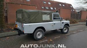 land rover series 3 109 land rover series iii 109 pickup foto u0027s autojunk nl 184406