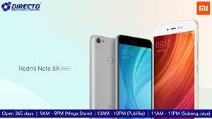 Redmi Note 5a Directd Store Xiaomi Redmi Note 5a Prime Asia Specs