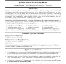 Manufacturing Engineering Manager Resume Manufacturing Resume Example Manufacturing Resume Writing Samples