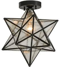 star light fixtures ceiling moravian star 1 light flush mount star lights and house