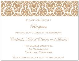 wedding reception cards reception card template paso evolist co