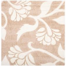 Tropical Area Rugs Safavieh Modera Beige 6 Ft 7 In X 6 Ft 7 In Square Area Rug