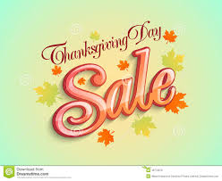 thanksgiving day sale poster with maple leafs stock illustration