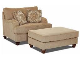Oversized Armchair With Ottoman Elliston Place Declan Oversized Chair And Ottoman Set Morris