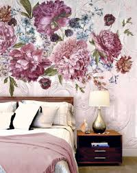 10 inspiring mural wallpapers the accent floral wallpaper bedroom