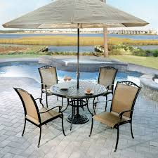 5 piece patio table and chairs patio table with fire pit 2016 patio designs