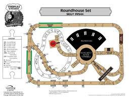 thomas train set wooden table thomas train roundhouse train set track layout thomas train track