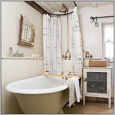 Clawfoot Tub Shower Curtain Ideas Astonishing Clawfoot Tub Shower Curtain Rod Curtains