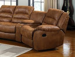 Leather Like Sofa Manchester Motion Sectional Sofa In Leather Like Fabric