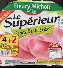 la cuisine sans sel le superieur sans sel nitrite fleury michon