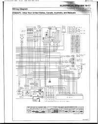 zx9r electric wiring diagram kawiforums kawasaki motorcycle forums