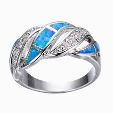 crystal opal rings images Blue sapphire crystal opal ring atperrys jpg