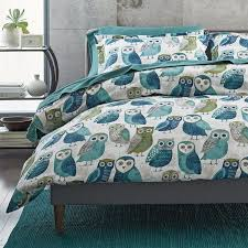owls 5 oz flannel bedding goodglance