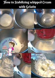 how to stabilize whipped cream 5 different methods veena azmanov