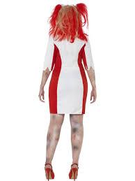 ladies curvy zombie costume halloween fancy dress plus