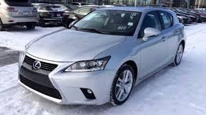 lexus hybrid ct 2014 lexus ct 200h hybrid in silver lining metallic touring