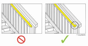 What Is A Banister On Stairs by Inspecting A Deck Illustrated Internachi