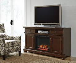 porter xl tv stand w fireplace option w697 132 tv stand