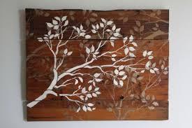 diy tutorial diy wall diy wooden tree wall bead cord